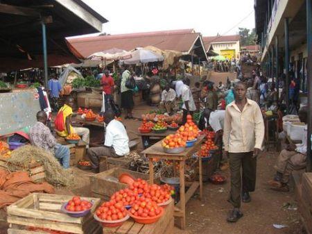 Nakawa Market, Kampala