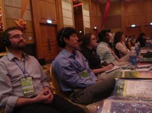 Kiva Fellows attending Banking Cambodia: Drew (KF7), Jeff (KF7), Katie (KF7) Sanjaya (KF5), Theresa (KF5) Not pictured: Julie (KF7), Kieran (KF6), John (KF6)
