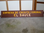 ECC El Sauce sign