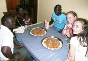 Eating the Dinner I Cooked for my Senegalese Family