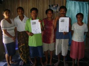Members of Fret Passu's Group and Oliftataf 44-B Group