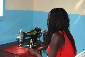 A Safe Space Member Working to Start a Tailoring Business