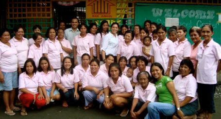 A Center Meeting in San Jose, Antique, Philippines.