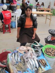 Yesenia Selling at the Market