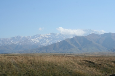 The view from Bishkek