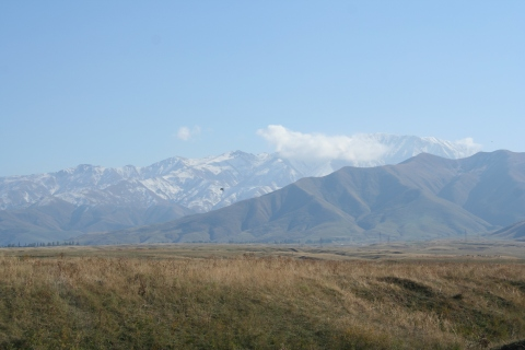The view from Bishkek