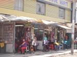A row of salons on Avenida Arica