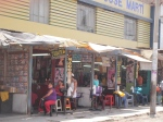 A row of salons on Avenida Arica
