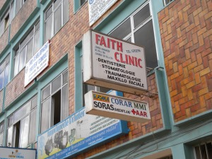 """Faith clinic"", emerging market for health care services"