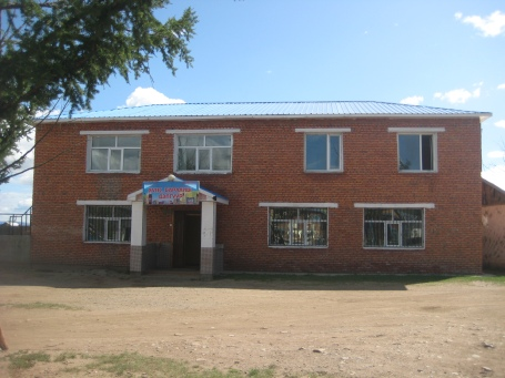 Hotel in Bat-Ulzii Soum - Outside View