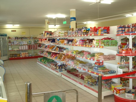 Supermarket in Uuyunga Soum - Inside View