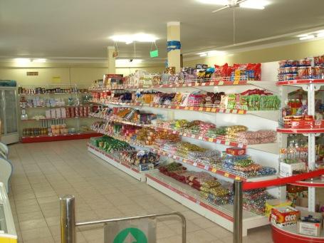 Supermarket in Uuyunga Soum - Inside View