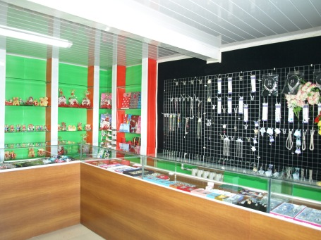 Jewelry shop in Bat-Ulzii Soum - Inside View