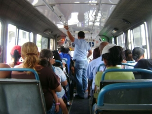 Bus ride in Guayaquil
