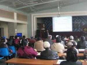 Bayankhongor Kiva Event