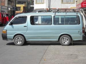 Microbus Guatemala