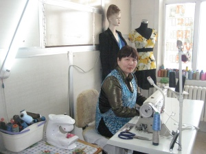 Seamstress moves to a larger space
