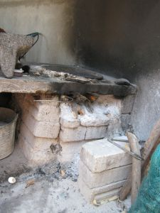 typical stove in Mexico