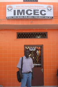 Abdoulaye, UIMCEC Loan Officer at the Yoff Branch