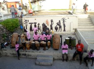 Drummers in Cape Coast