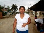 A Kiva borrower smiles for her photo in Parcona, Perú