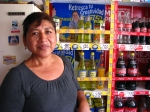 Kiva borrower Lilia runs a successful book store- but she also sells pick-me-ups like Inca Cola, Perú's most popular beverage (though it's possibly tied with chicha)