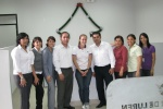 With my coworkers on my last day at Kiva Partner Caja Rural Señor de Luren