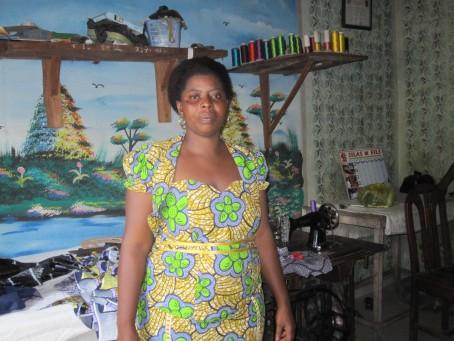 A Béninois borrower - Allison Moomey, Benin