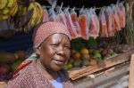 1) Nairobi West Branch - SMEP Borrower Annah - was able to expand her offerings from Charcoal and Eggs to Fruit and Vegetables.