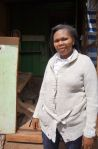 4) Nairobi Central Branch - SMEP Borrower Joyce - Moved her business to Kangemi where she refurbished a shop that will provide cooking gas and mobile phone accessories