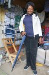 9) Kitengela Branch - SMEP Borrower Colletta - purchased more stock for her clothing and luggage shop