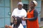 18) Nakuru Branch - SMEP Borrower Grace and Friends - Used loan to expand beauty shop offerings used by the community.