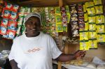17) Nakuru Branch - SMEP Borrower - Grace - Used loan to expand beauty shop offerings to include grocery and other items