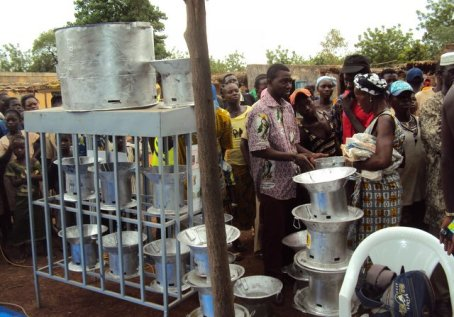 EdM clean cookstoves in Burkina Faso