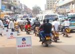 Bodas in downtown Kampala