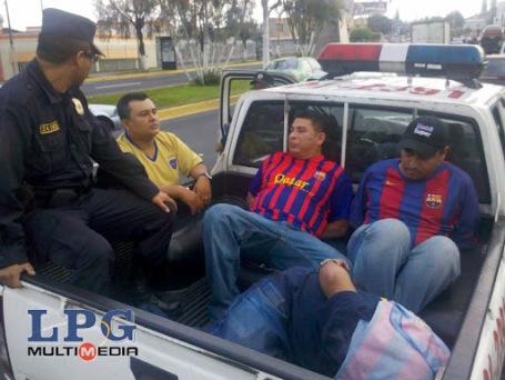 Detenidos tras encuentro Barca-Madrid