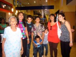 Me with some Kiva borrowers at a trip to the movies put on by my MFI