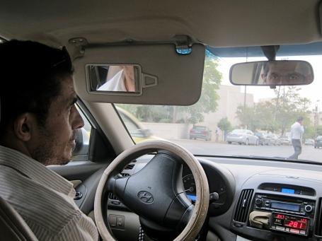 Taxi driver in Jorda