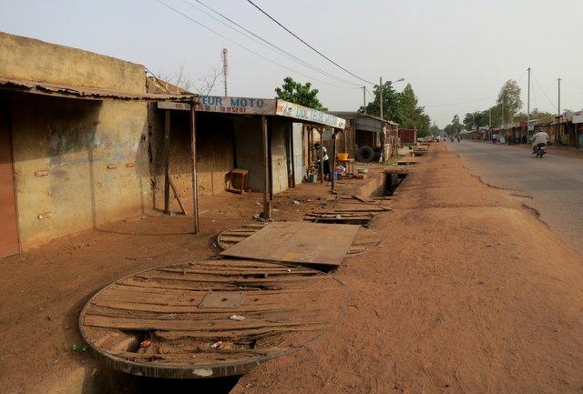 Ouagadougou street