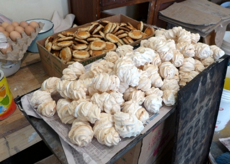 Melt-in-your-mouth meringues, one of Celestina's specialties