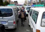 Road Race: Pedestrians usually win in La Paz