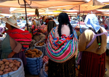 Bolivian Market Economy: Where commerce commences
