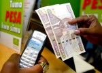 Leading-edge M-Pesa payment system at work in Africa (photo courtesy afritorial.com)