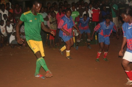 The celebration of Tabaski started off last night with a neighborhood wide soccer tournament