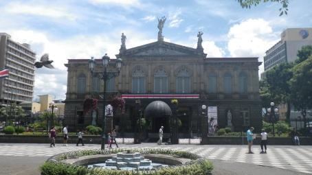 the Teatro Nacional