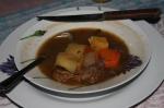 the delicious ollo de carne that Manuel made me!