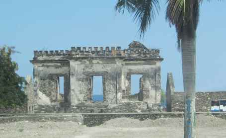 Former colonial building outside Dili