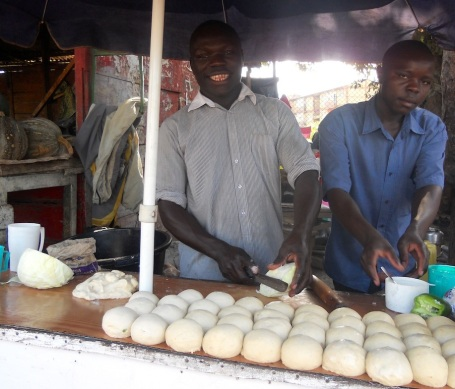 My favorite rolex stand in Kampala