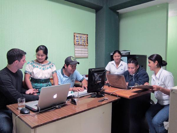 The office of ADICLA in Sololá, Guatemala