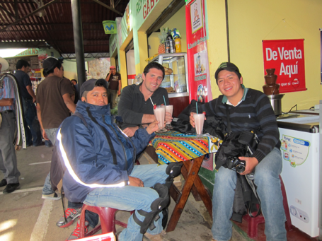 Sharing is caring in Guatemala